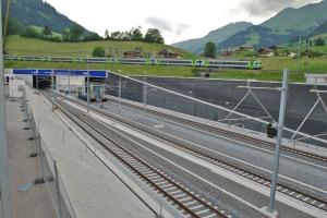 Un exemple de « tunnel de base », le tunnel du Lötschberg reliant la Suisse à l'Italie.