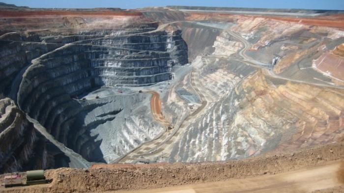 Mine d'or en Australie