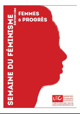 Affiche-UEC-Semaine Féministe