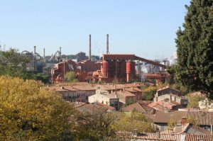 L'usine d'alumine Alteo à Gardanne.