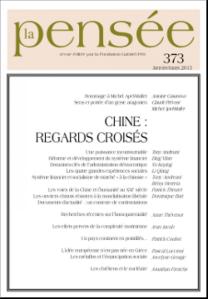 Chine : Regards croisés, La Pensée n°373